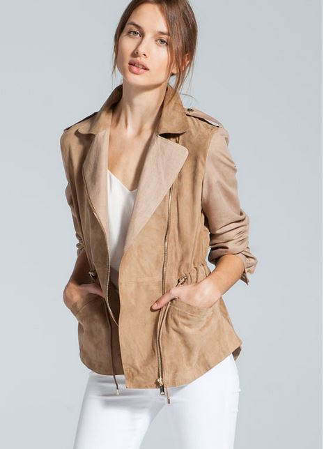chaqueta ante lino