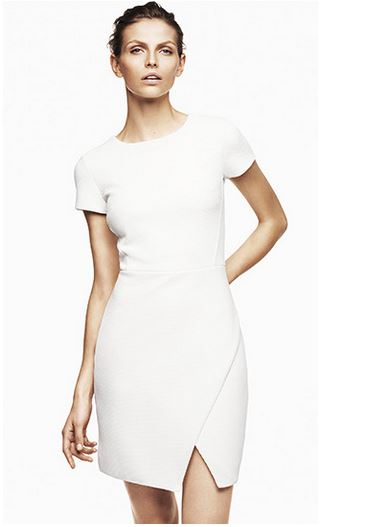 Vestido blanco HM