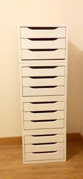 Mueble DIY almacenar bisutería