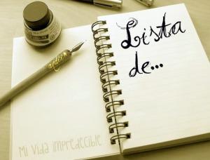 LiStA dE..