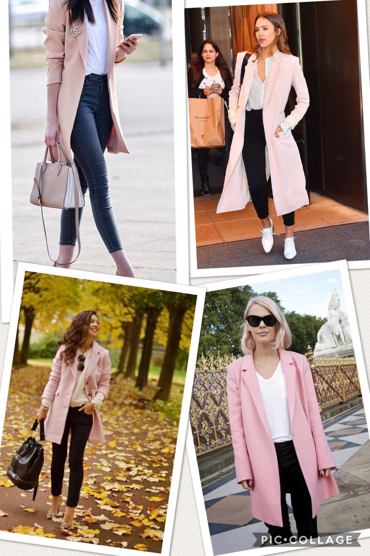 f560c8166d 20 looks de inspiración con abrigo Rosa
